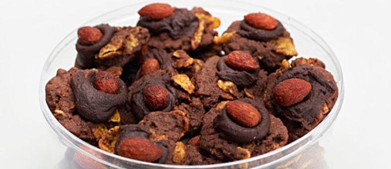Kue Kering Coklat Kacang Almond Jumbo
